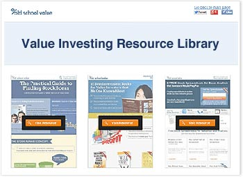 value investing resource library